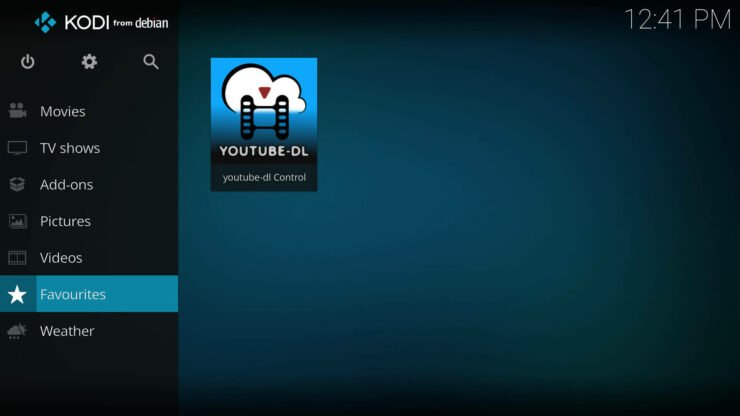 kodi favorites menu - How to add Favorites shortcut to Kodi homescreen