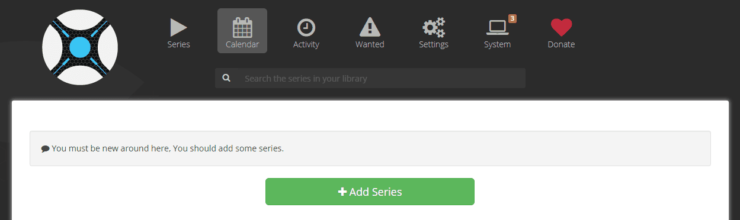 Sonarr - TV Shows Download and Organization