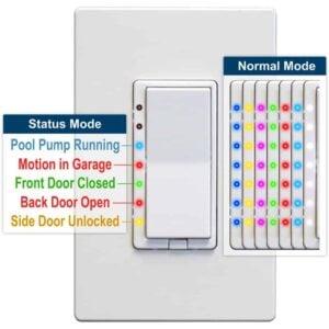 Homeseer Hs-Wd200 Z-Wave Sensor -Inwall Switch