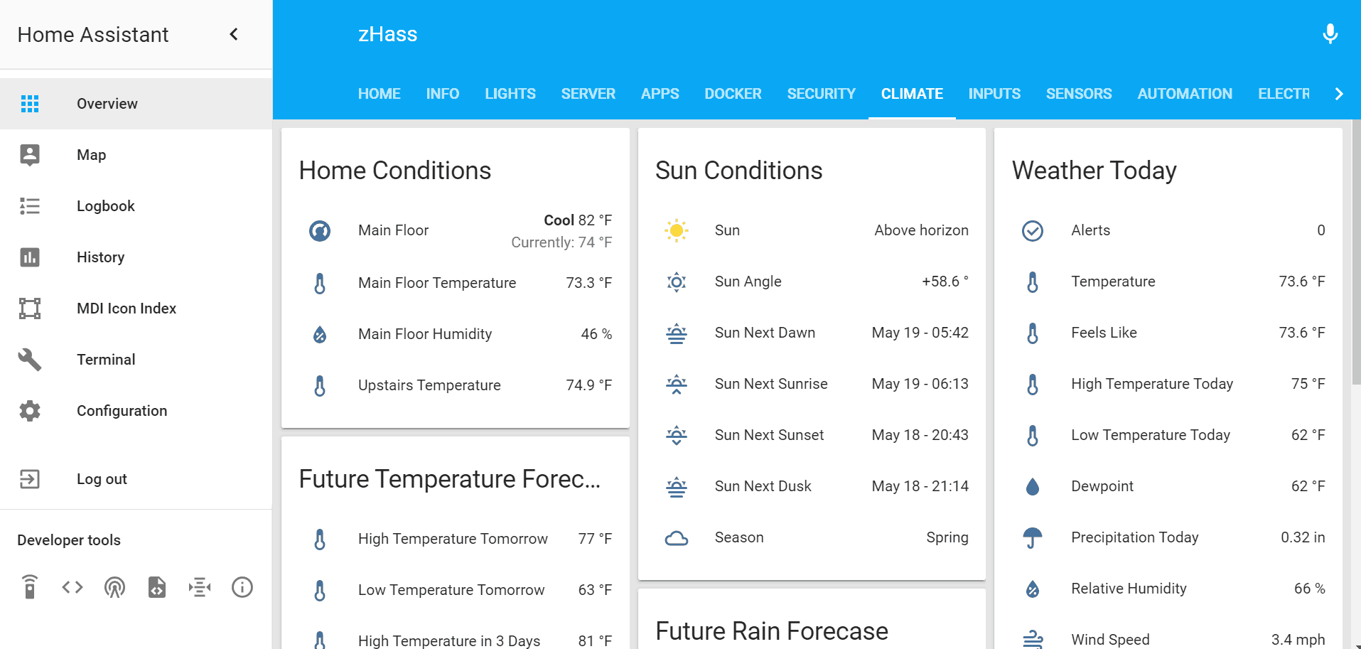 How to add an animated Weather Radar on Home Assistant?