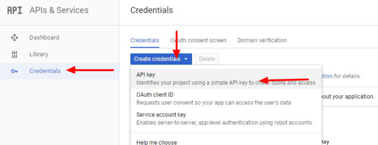 Create an API Key for Home Assistant
