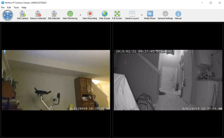 free ip camera software windows 10
