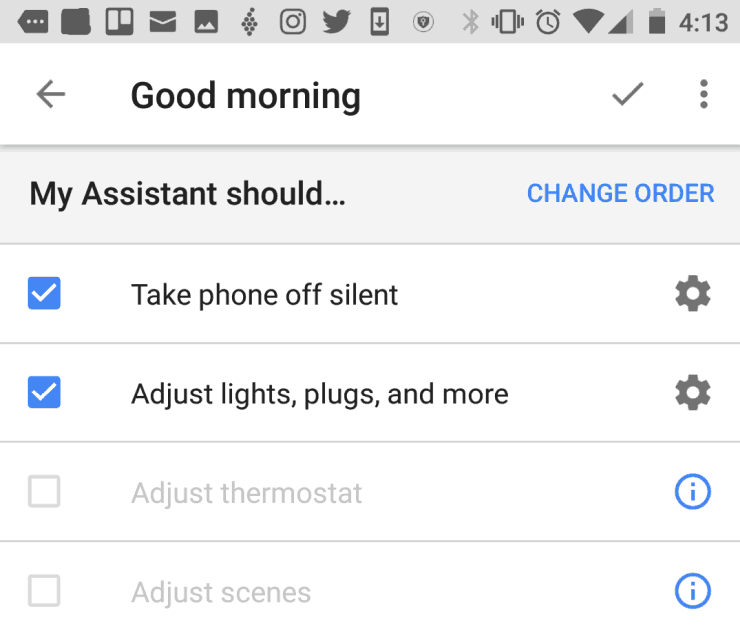 google home routines for automation