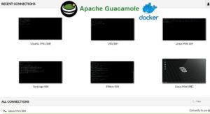 Install Guacamole on Docker