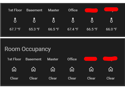 Ecobee Room Sensors on Home Assistant
