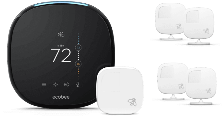 Ecobee 4 with Room Sensors