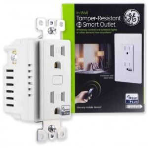 GE Zwave Plus Outlet