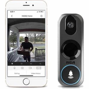 RCA HSDB2A 3MP Wi-Fi Video Doorbell Camera