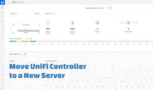Move UniFi Controller to a new host without losing settings