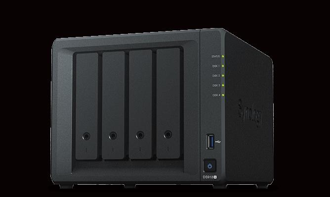 Synology DS918+ media server for Plex