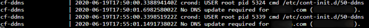 Cloudflare DDNS Monitors your WAN IP and Updates DNS Records if Necessary
