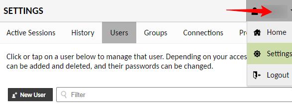 Guacamole Security - Delete default user