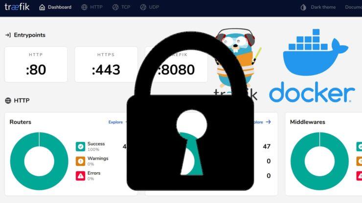 Security for Docker Traefik Stack