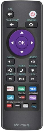Gvirtue Universal Replacement Remote Control for Roku TV