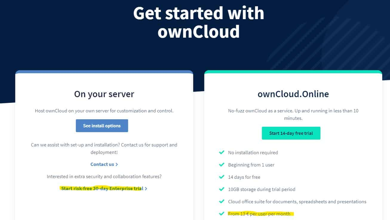 Nextcloud Vs Owncloud Is Clearly Going After Business And Enterprise Customers